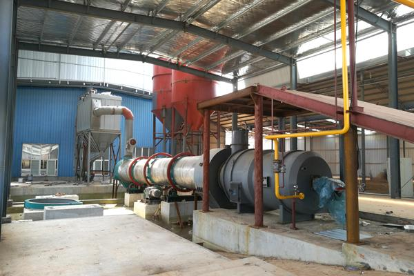 sand washing plant rotary dryer
