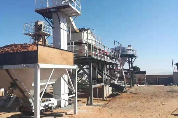 fracturing sand washing plant