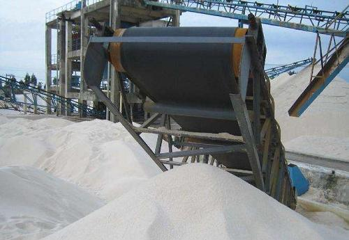 foundry sand plant