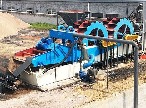 sand washing and recycle machine