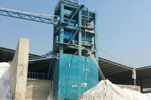 Glass sand washing plant